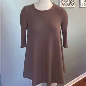 Project social T brown dress small